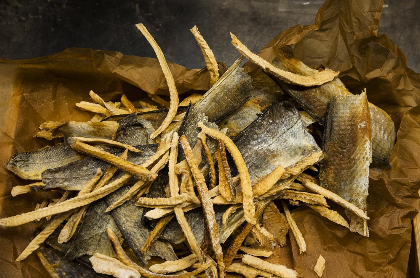 Bio-Raubfisch, Stockfisch, Fischhaut,, tasting_forum, Bio 3.0, biodreinull, Verkostung