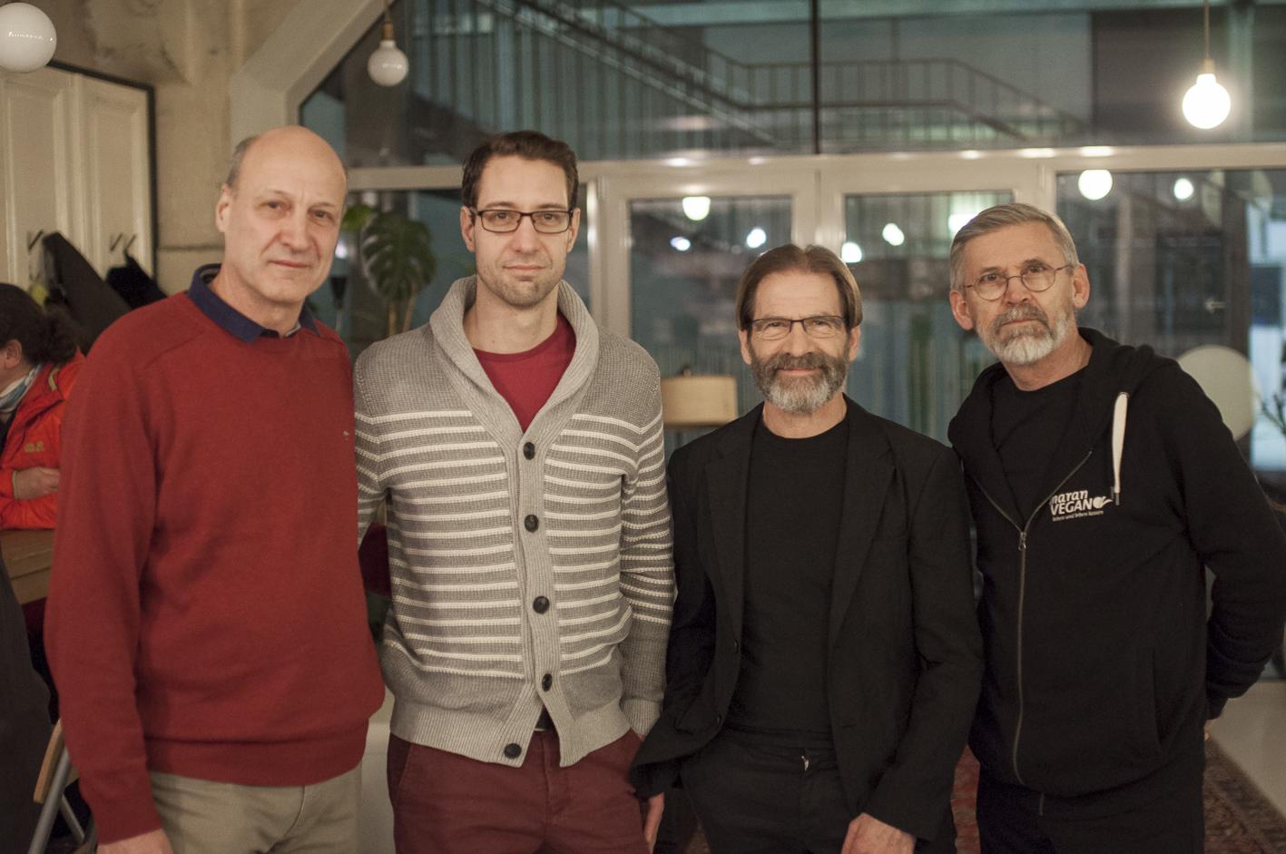 Fleischloses Bio-Fleisch, Tasting_forum, Bio 3.0, #biodreinull, Peter Hiel, Richard Hiel, Hermann Neuburger, Stefan Maran