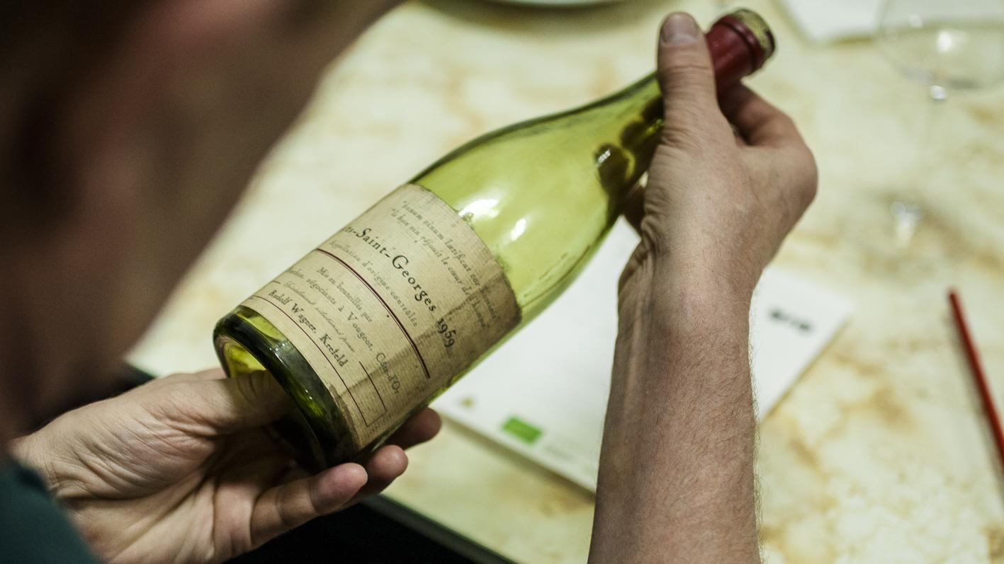 Bio-Weinverkostung Bio 3.0 biodreinull Tasting_forum Verkostung Nuits-Saint-Georges 1959