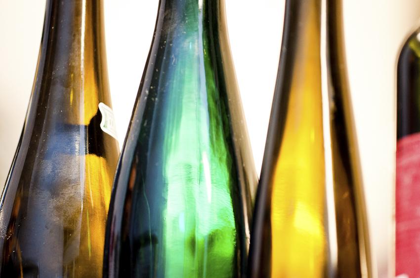Bio-Georgiweine Weinflaschen Bio 3.0 #biodreinull Verkostung Tasting_forum