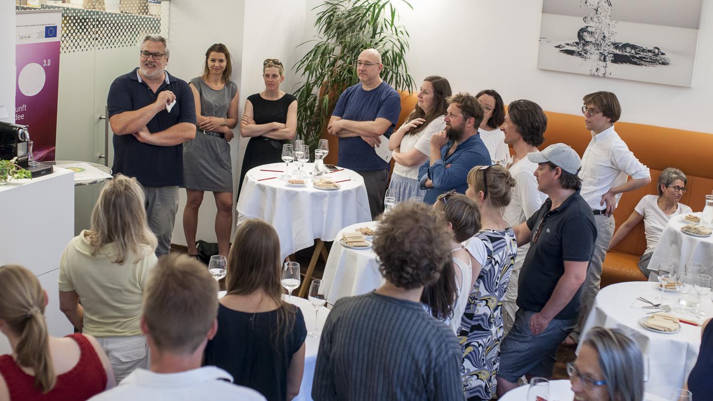Bio-Eis Verkostung Tasting_forum Bio 3.0 #biodreinull organic FiBL