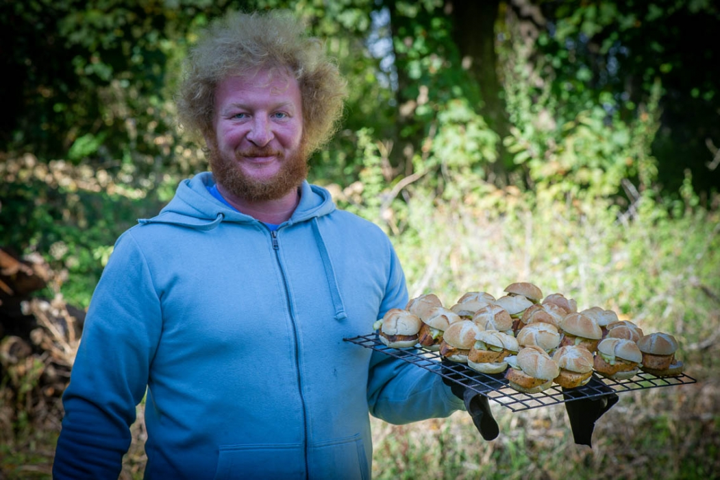 Ab-Fisch Abfischen Fischleberkässemmel Verkostung Tasting_forum Biofisch Waldviertel Marc Mößmer Bio 3.0 #biodreinull