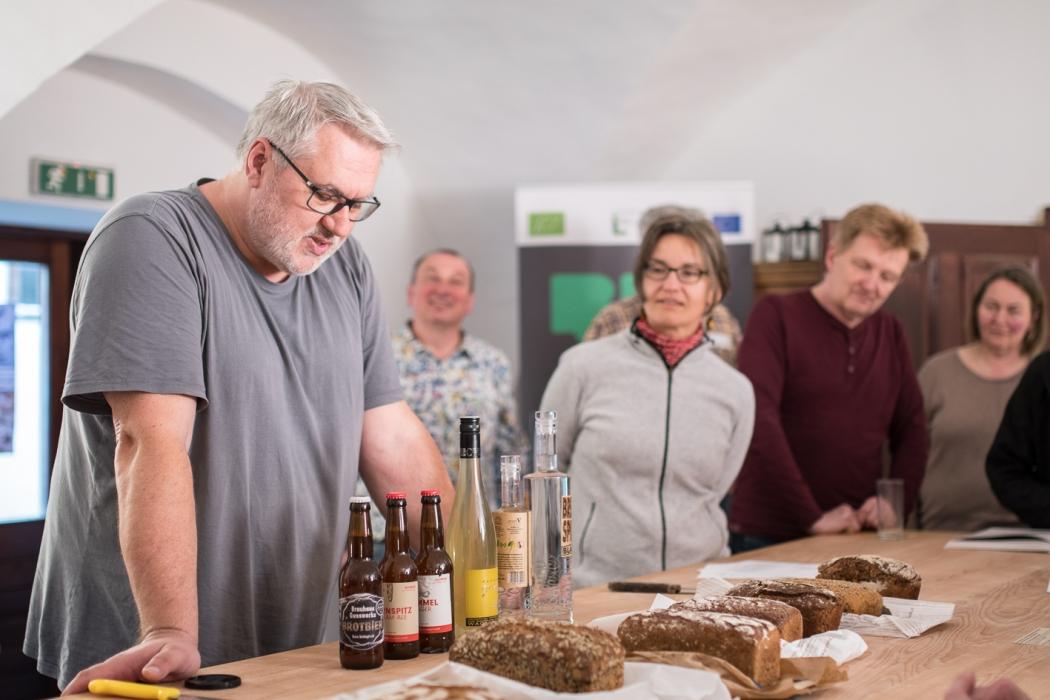 Bio-Mehl- und -Backworkshop Bio 3.0 Tasting_forum Verkostung #biodreinull Dyk-Mühle 1. Waldviertler Biobackschule