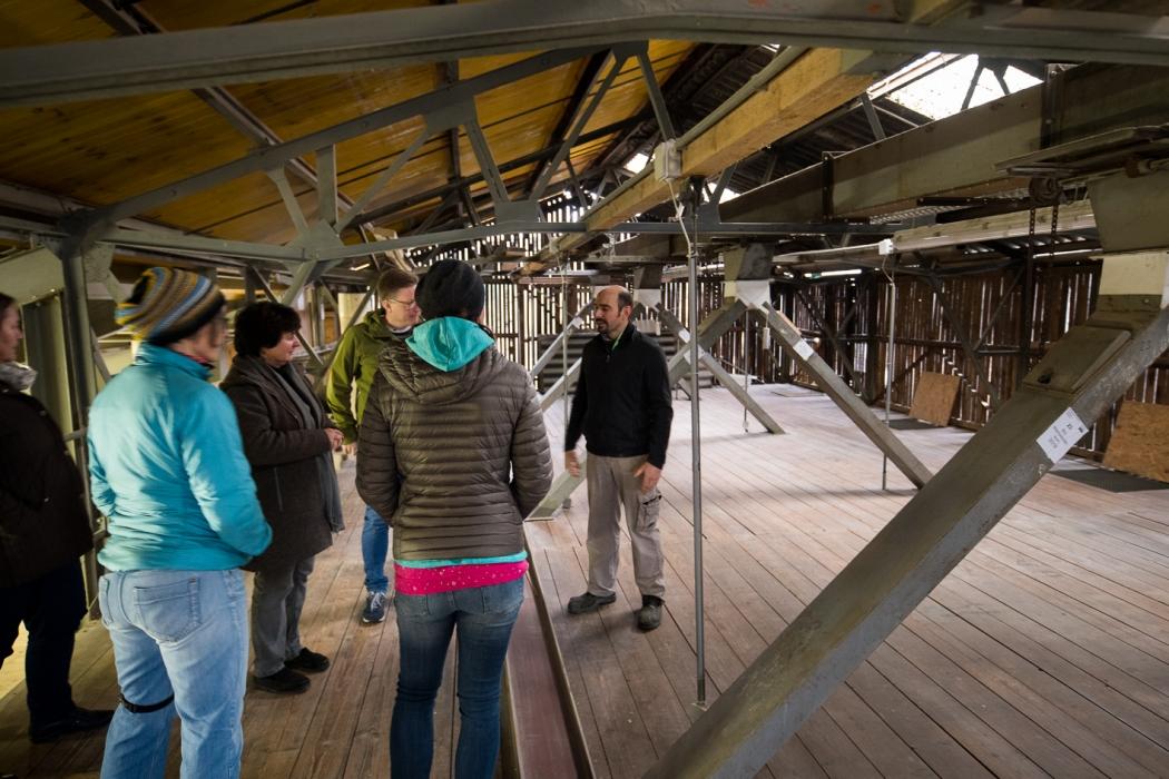 Bio-Mehl und -Backworkshop Tasting_forum Bio 3.0 #biodreinull Bio-Getreide Dyk Mühle 1. Waldviertler Biobackschule